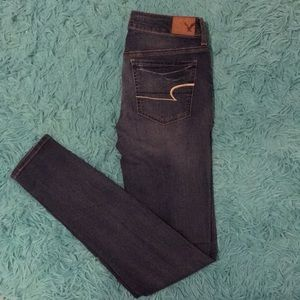 American Eagle NEW Low-Rise Jegging X-Long